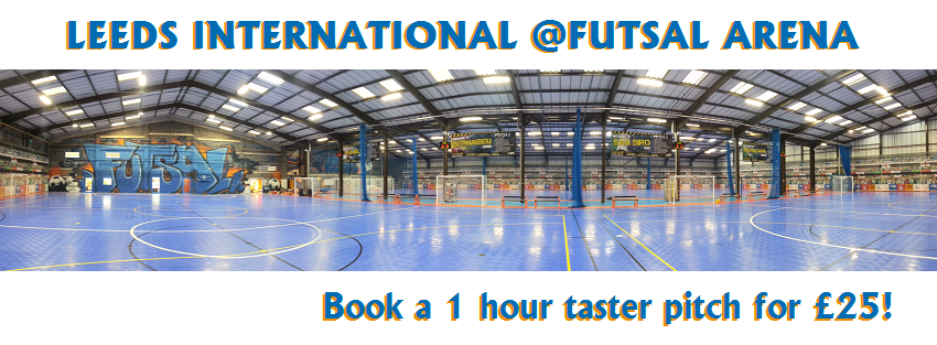 Junior teams please take note of invitation from Leeds Futsal Arena