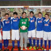 TWO GRIMSBY TEAMS FROM THURSDAY JUNIOR LEAGUE, CONTEST FINAL AT LEEDS