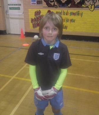 GOAL KEEPER, OUTFIELD PLAYER & CHESS CHAMPION AT 8!
