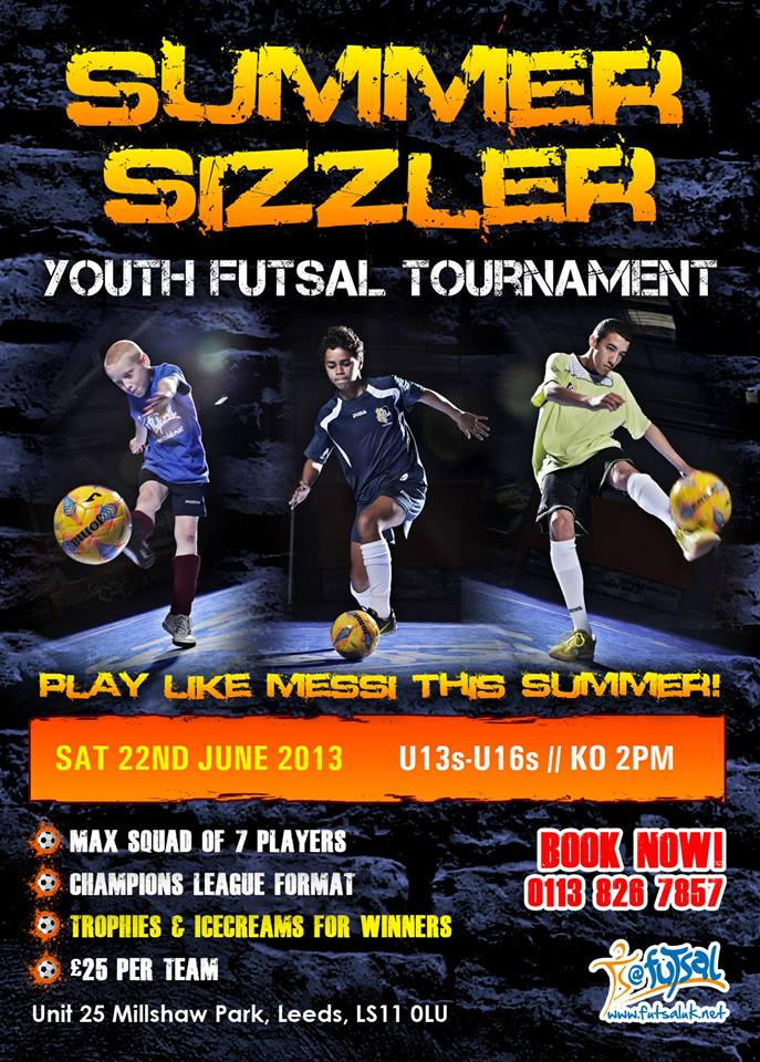 Leeds Summer Sizzler Youth Tournament