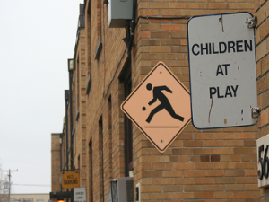 Fears of upsetting neighbours preventing children from playing, says survey.