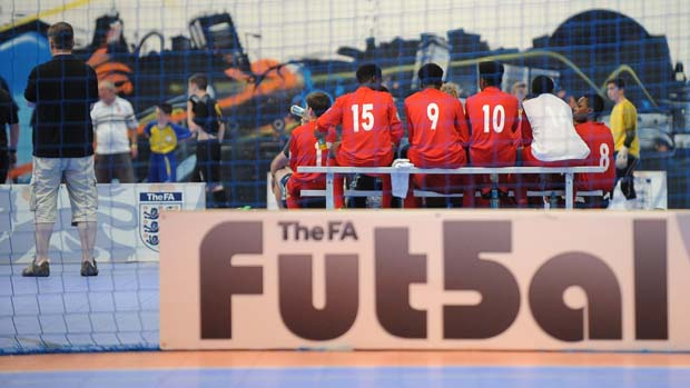 Popularity of Futsal continues to flourish in England - The FA Youth Futsal Festival 2014.