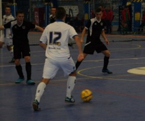 Last gasp Dobie goal gives Leeds Futsal an epic 4-3 win over Grimsby; courtesey Leeds Football Foundation