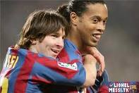 Messi and Ronaldinho both started as futsal players