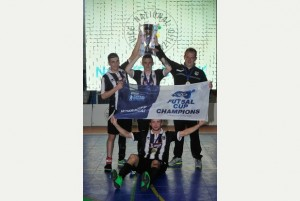 GRIMSBY Town's first-ever Futsal scholars have completed an incredible treble-winning season.