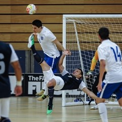 England's futsal team are on their best ever run and Doug Reed and Agon Rexha speak to UEFA.com about this week's preliminary round and the game's growth.