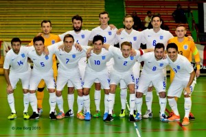 Grimsby born Ben Mortlock with England team 2015 (Ben is front row third from right)