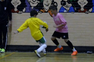 FA Coaching same day level 1 futsal course Sheffield 3rd October 2014
