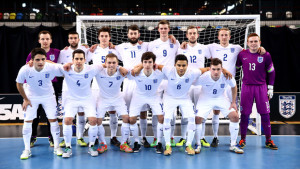 England Futsal squad named for games with Estonia