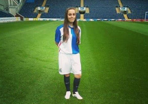 Chorley Guardian report Blackburn Rovers star Jade Elliot is the first female futsal scholar in region