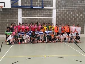 Fantastic effort by Discoveries Town Futsal team in the University of Nottingham Futsal Tournament.