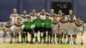 Germany, last major country to play international futsal to play England