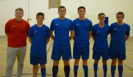 Lions 3 Franklin College 9. Great advert for progression being made in junior futsal