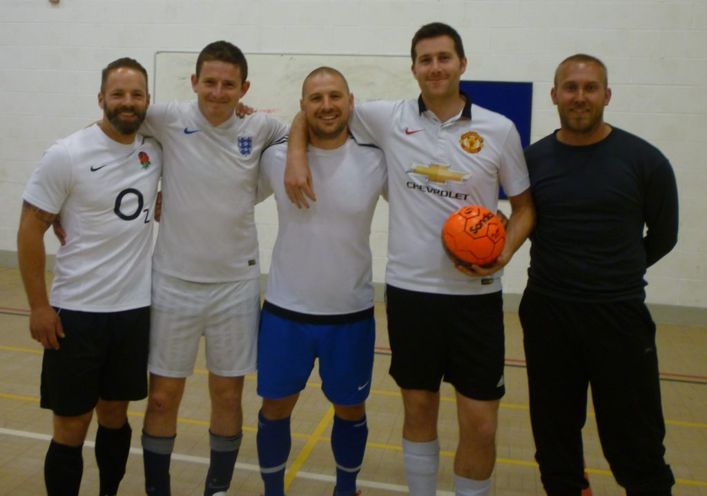 Mark Wade finishes 10 year futsal career on a winning note