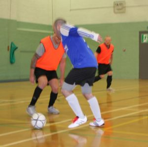 Senior futsal is place to be, every game is competitive, played to highest standards. Pictures Payzone vs. Liam Williamson Futsal.